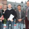 Staatspreisverleihung auf dem Schlossplatz in Aschaffenburg